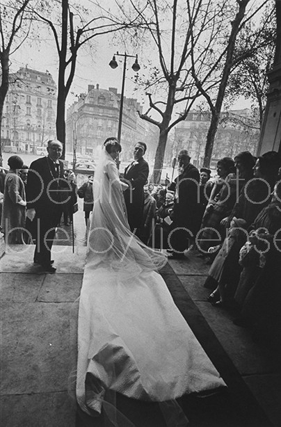 French Society wedding of Patrice Bonnefous and Joelle Amidieu.