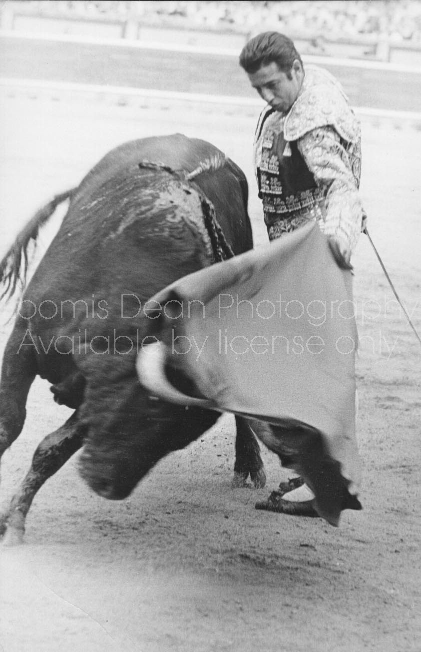 SPANISH BULLFIGHTER ANTONIO ORDONEZ