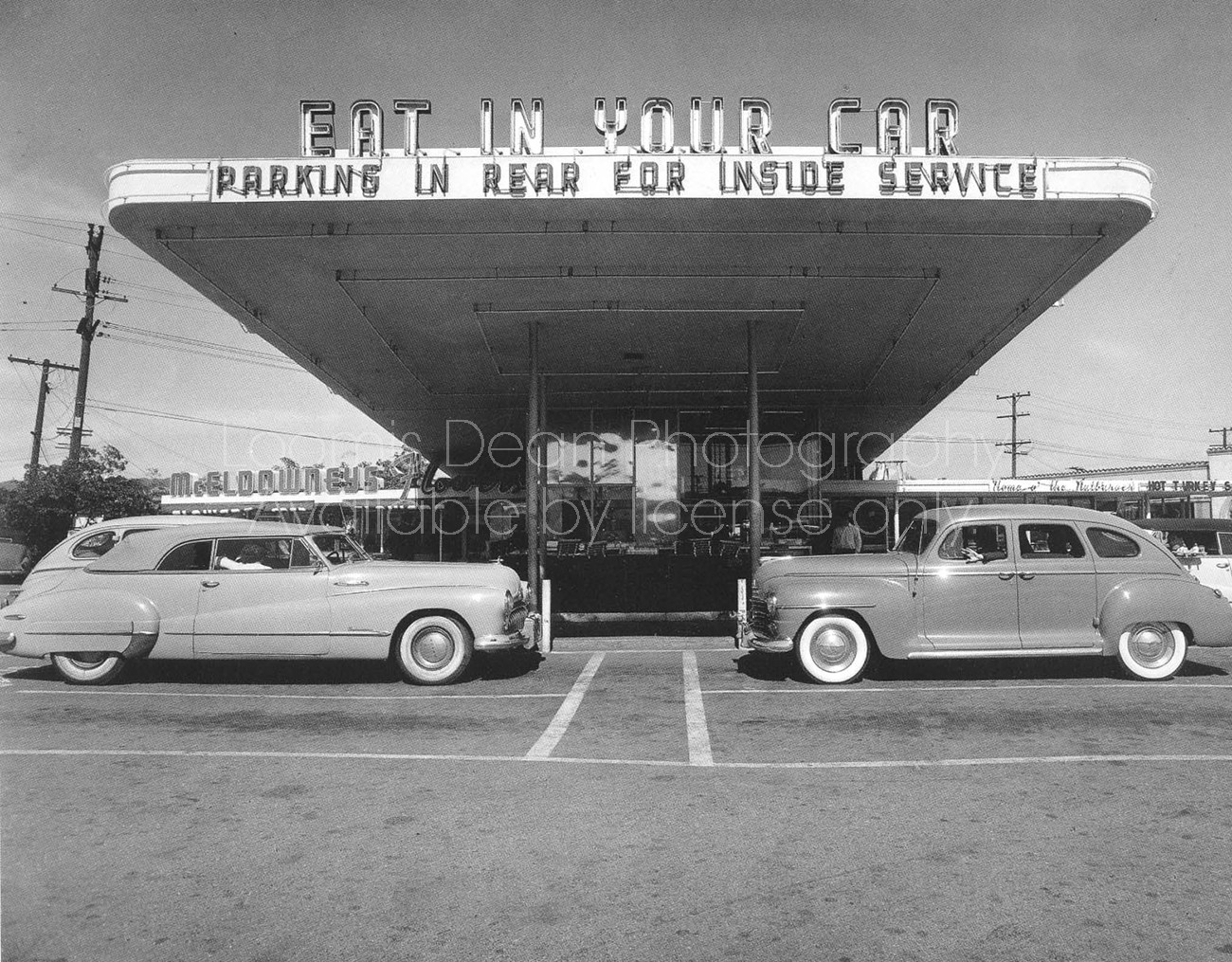 DRIVE IN RESTAURANT, LOS ANGELES
