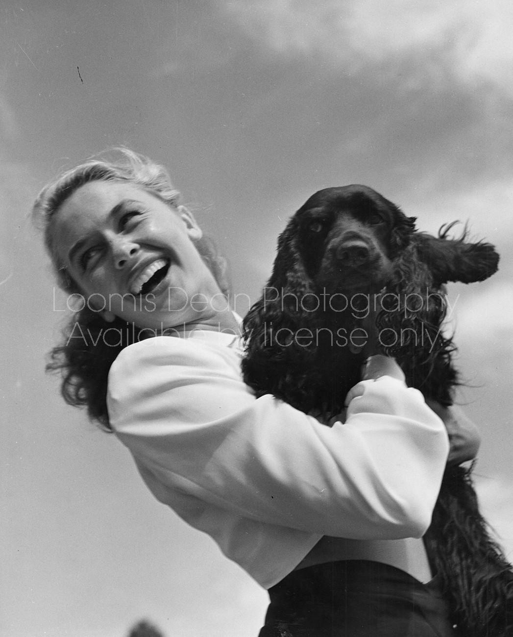 FASHION PORTRAIT WITH DOG 12 S