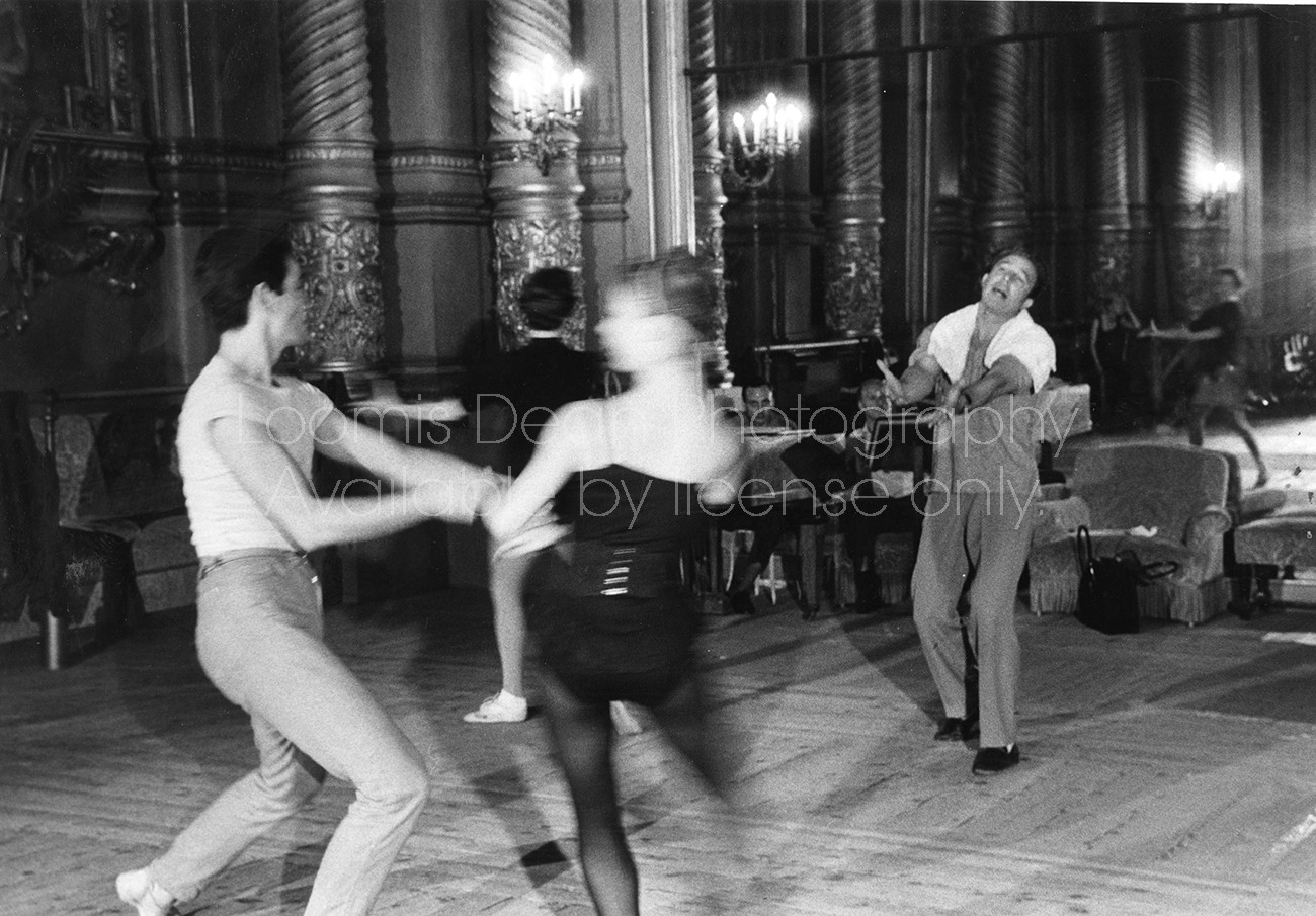 DANCER COREOGRAPHER GENE KELLY AT PARIS OPERA S 347