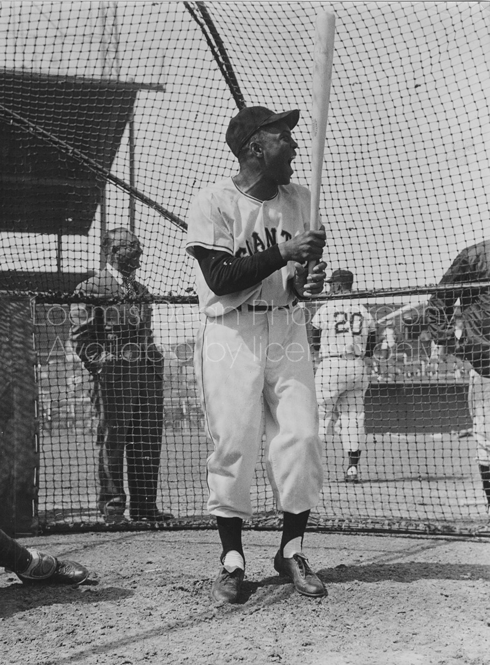 BASEBALL STAR WILLIE MAYS