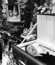 John Decker's body lying in state.