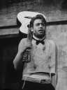 """Actor Peter O'Toole performing in scene from the play """"Baal."""""""