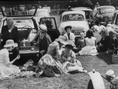 British citizens having a picnic.