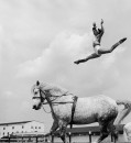 Ernestine Clark, Star of the Yustino Loyal Troupe at the Ringling Brother's Barnum & Bailey Circus