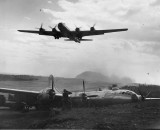 CRASHED U.S. AIR FORCE B29 PACIFIC THEATER 115
