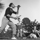 RINGLING CIRCUS PERFORMER KNIFE PRACTICE 073
