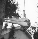 RINGLING CIRCUS LALAGE TRAPEZE PRACTICE 170