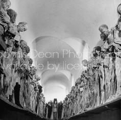 Dead bodies awaiting their proper burial.