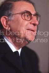 Nobel Prize winner author Jean Paul Sartre.
