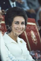 Spanish Princess Sofia at track meet, Madrid.