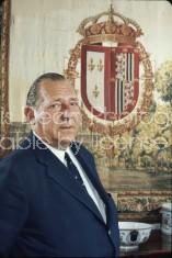 Don Juan of Spain, prob. at Zarzuela palace outside Madrid.
