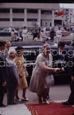 Russian Premier Khrushchev's third wife Nina Petrovna Cairo, Egypt