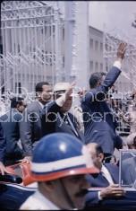 Russian Premier Khrushchev in Cairo with Egyptian President Gamal Abdel Nasser