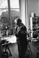 ARTIST CHAGALL IN STUDIO S 534