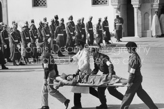 KING MOHAMMED V OF MOROCCO FUNERAL 516
