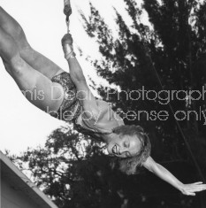 RINGLING CIRCUS LALAGE TRAPEZE PRACTICE 171