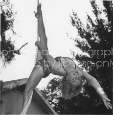 RINGLING CIRCUS LALAGE TRAPEZE PRACTICE 173