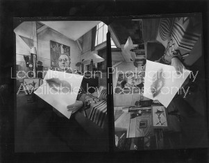 ARTIST MAN RAY IN D'ARTAGNON'S APT CONTACT 392